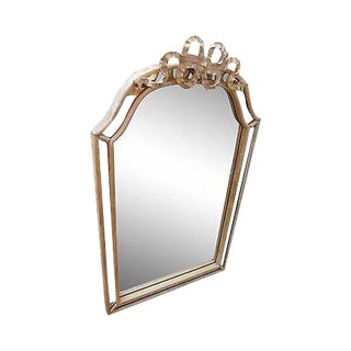 Friedman Brothers Connoisseur Collection Gilt Beveled Mirror For Sale