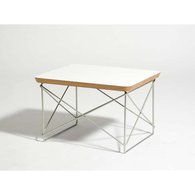 1950s Charles and Ray Eames LTR Table by Herman Miller For Sale - Image 5 of 6