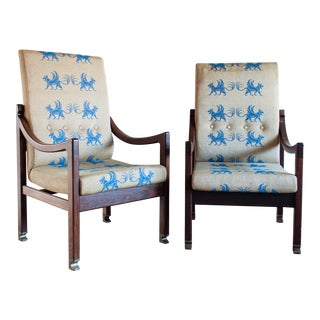 Ib Kofod-Larsen Megiddo Lounge Chair - a Pair For Sale
