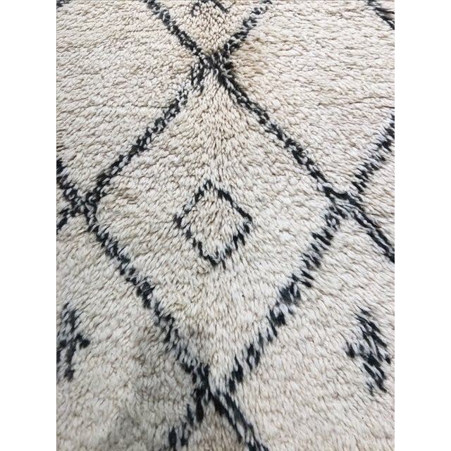 "Moroccan Area Rug - 6'3"" X 11'1"" - Image 6 of 7"
