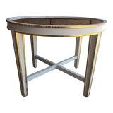 Image of Hollywod Regency Oly Studio Christine Side Table For Sale