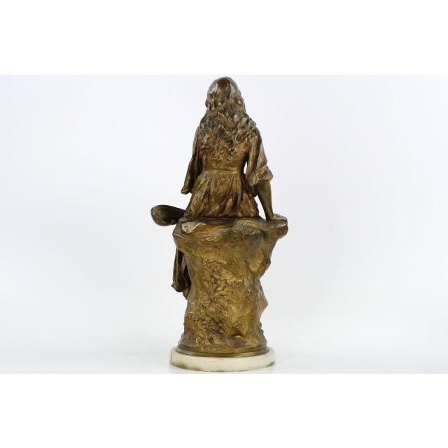 Paul Eugéne Mengin Bronze Sculpture - Image 3 of 10