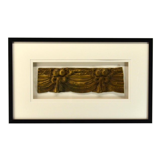 French Valance, Repousse Framed For Sale