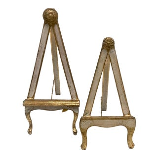 Pair of Florentine Easels For Sale