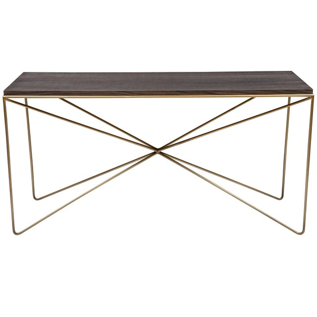 Not Yet Made - Made To Order Robert Console Table For Sale - Image 5 of 5