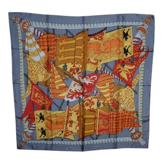 Hermes, Paris - Silk Scarf Banners & Flags For Sale