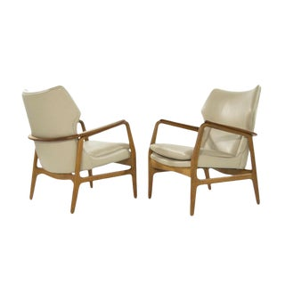 Teak Lounge Chairs by Aksel Bender Madsen for Bovenkamp For Sale