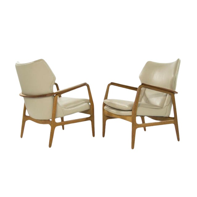 Teak Lounge Chairs by Aksel Bender Madsen for Bovenkamp - a Pair For Sale