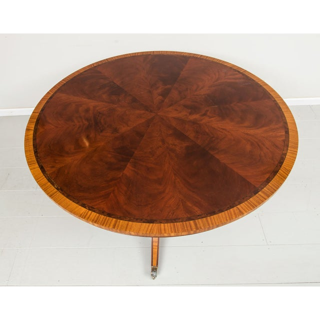 English Victorian Rosewood Dining Table - Image 2 of 5