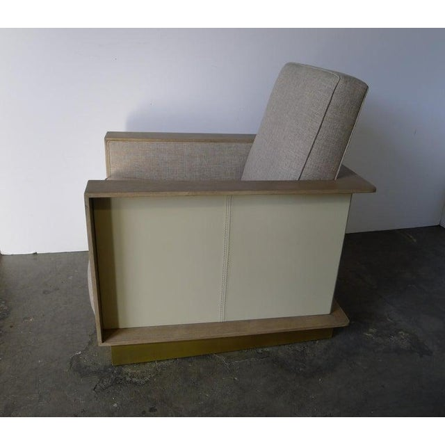Max Modern Club Chair by Paul Marra For Sale In Los Angeles - Image 6 of 12