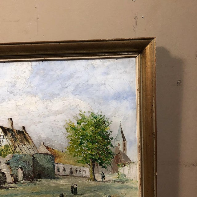 Framed Oil Painting on Canvas For Sale In Baton Rouge - Image 6 of 11