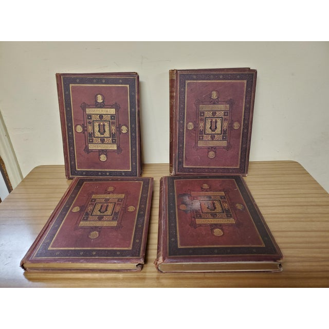 1873 the Works of Shakespeare Books - Set of 4 For Sale - Image 13 of 13
