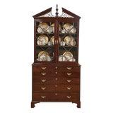 Image of George III Bureau Bookcase For Sale