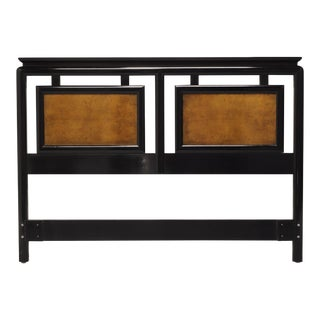 Century Chin Hua by Raymond K Sobota Asian Style Queen Headboard For Sale