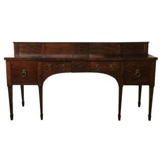 19th C. Scottish Mahogany Sideboard For Sale