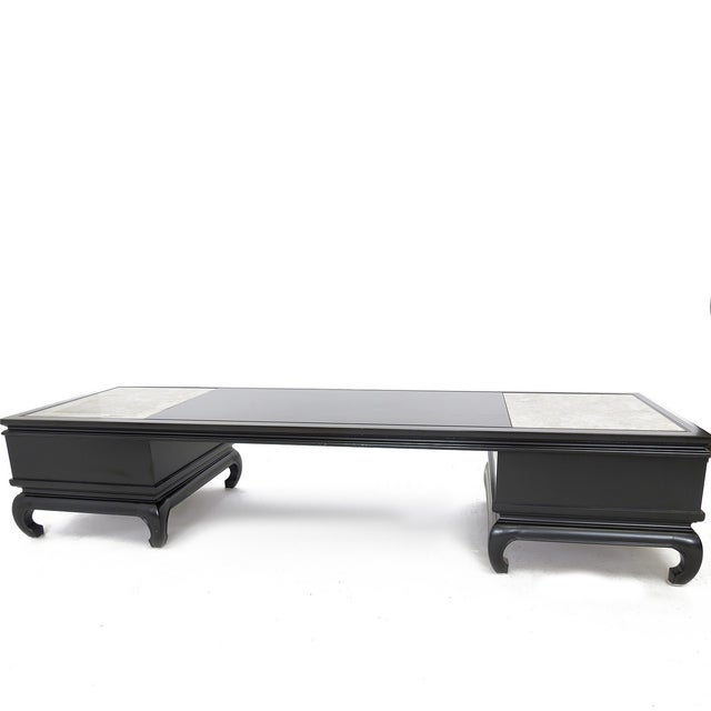 80s Mirrored Coffee Table by Lane For Sale In Palm Springs - Image 6 of 8