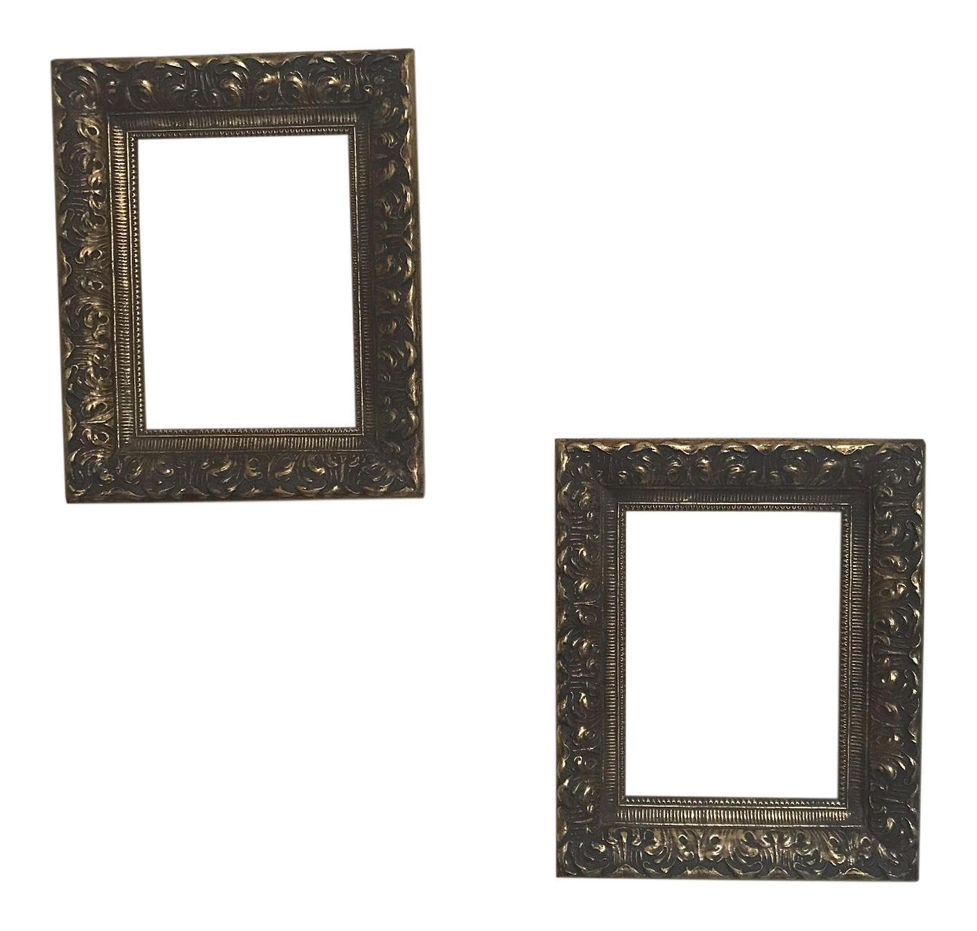 Vintage & Used Gold Picture Frames | Chairish