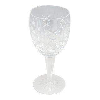 """1970s Waterford Crystal Wine Glass """"Glengarritt"""" Pattern For Sale"""