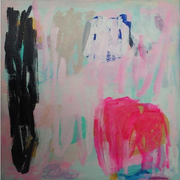 "Susie Kate ""Cherry Spritzer"" Original Painting - Image 1 of 2"