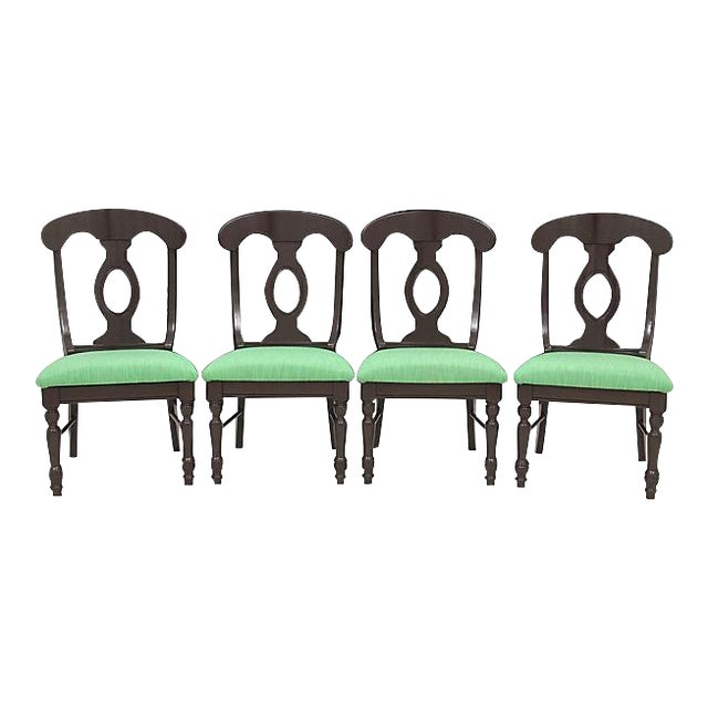Biedermeier Kate Spade Dining Chairs - Set of 4 - Image 1 of 8