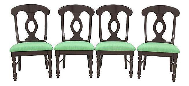 Biedermeier Kate Spade Dining Chairs   Set Of 4   Image 1 Of 8