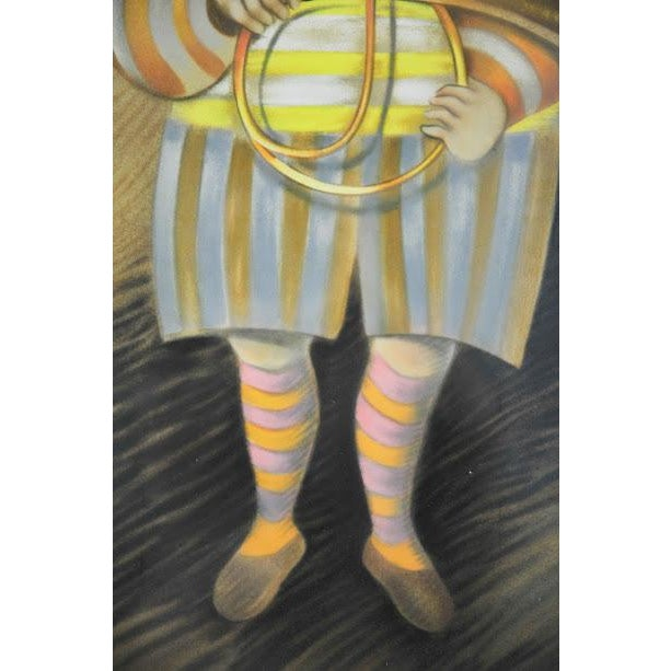 """Signed & Numbered Lithograph """"French Horn Player"""" by Graciela Rodo Boulanger - Image 5 of 9"""