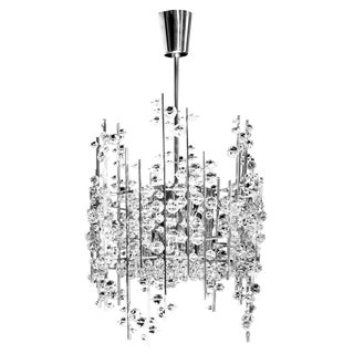 """Ice Bud"" Chandelier by Hans Harald Rath For Sale"