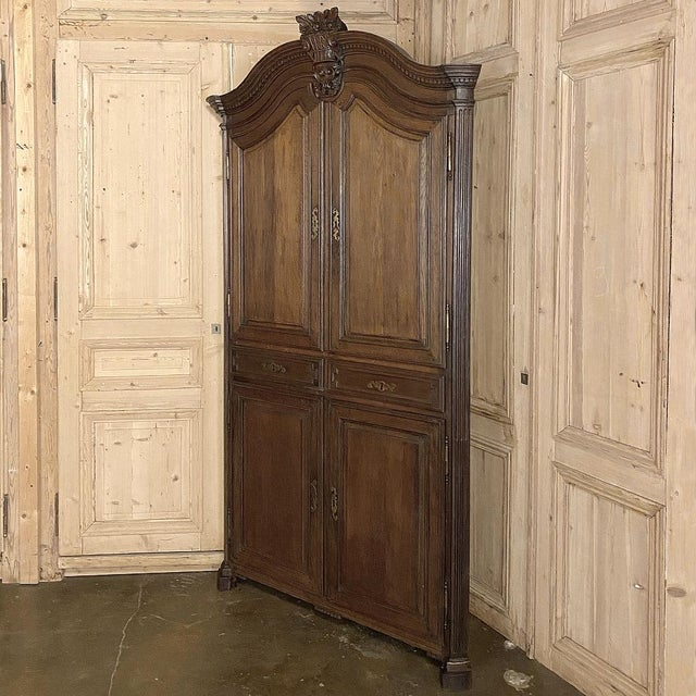 French 18th Century French Louis XVI Corner Cabinets - a Pair For Sale - Image 3 of 13
