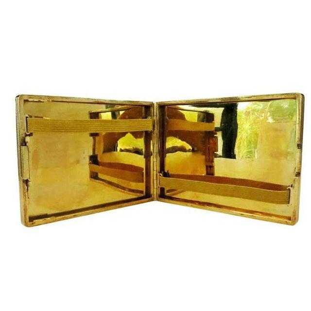 18-Karat Gold Art Deco Cigarette Case For Sale - Image 4 of 10