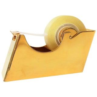 Brass Desk Tape Dispenser For Sale