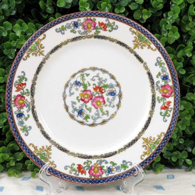 Vintage Mismatched Luncheon Plates - Set of 4 - Image 6 of 8