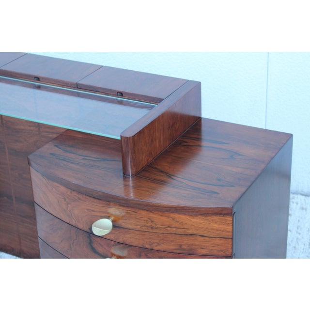 Gilbert Rohde for Herman Miller Rosewood Vanity For Sale In New York - Image 6 of 13