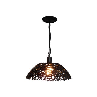 Contemporary Steel Pendant Light For Sale
