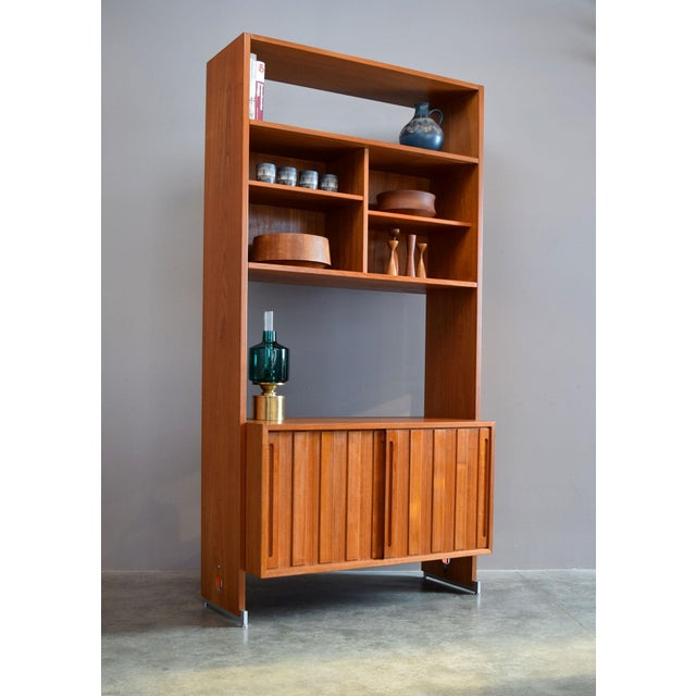 This is a wonderful, rarely seen modular storage piece by renowned Danish designer Hans J. Wegner for RY Møbler. It is...