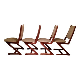 Mid-Century Teak 'Z' Chairs For Sale