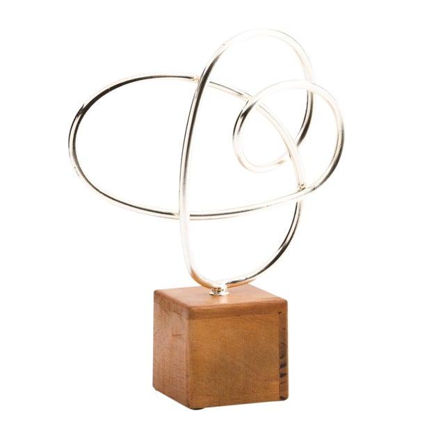 Contemporary Metal Art Sculpture - Image 1 of 3