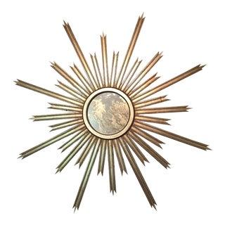 Transitional Worlds Away Starlata Starburst Mirror For Sale