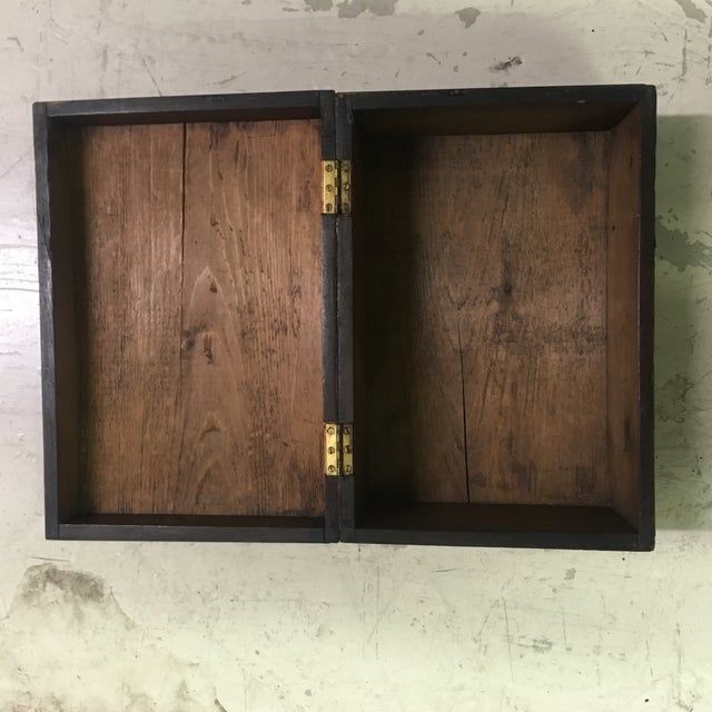 Large Burled Walnut Marquetry Box For Sale - Image 4 of 4