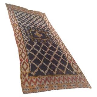 """Vintage Moroccan Rug - 4'6"""" x 6'"""