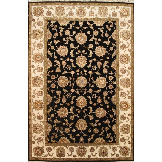 Agra Collection Traditional Oriental Rug - 6'x9' - Image 1 of 1