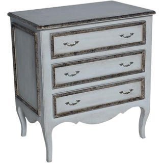 Italian 3 Drawer Nightstand For Sale