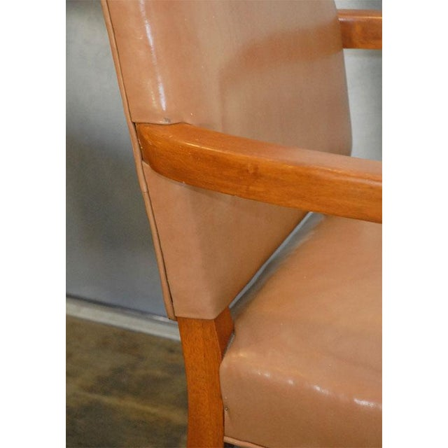 Traditional American Armchairs - A Pair For Sale - Image 3 of 7
