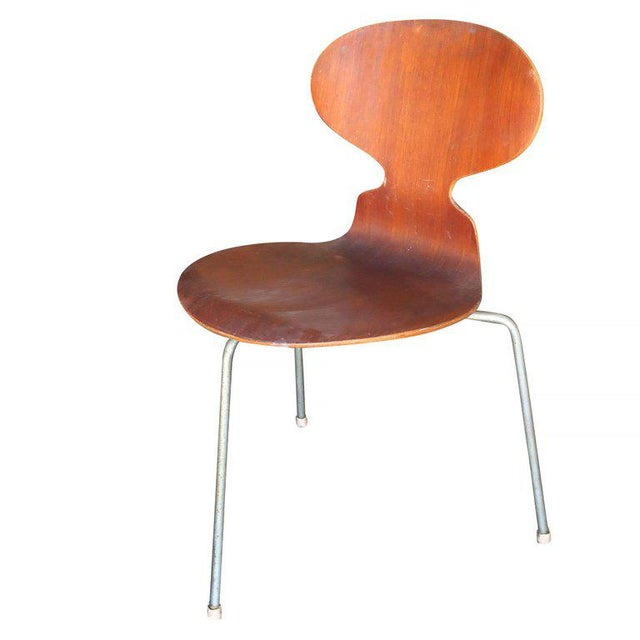 """Arne Jacobsen """"Ant"""" Side Chairs, Set of Four - Image 4 of 7"""