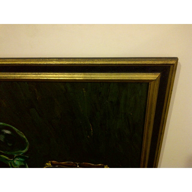"""Vintage """"Tea Kettle"""" Painting by John Micheal For Sale In Pittsburgh - Image 6 of 9"""