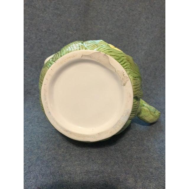 Ceramic Vintage Ceramic Native Corn Pitcher For Sale - Image 7 of 9