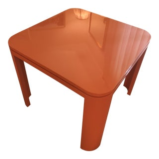 Custom Mid Century Modern Game Table For Sale