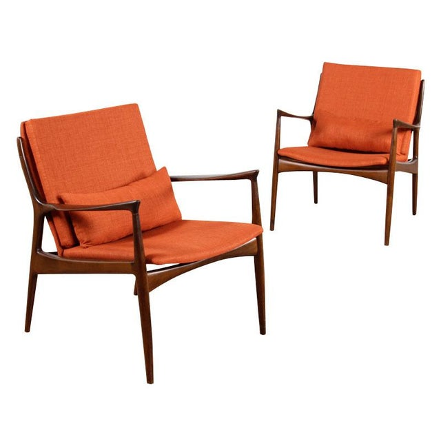 Mid-Century Mølgaard & Hvidt Chairs- A Pair - Image 1 of 6