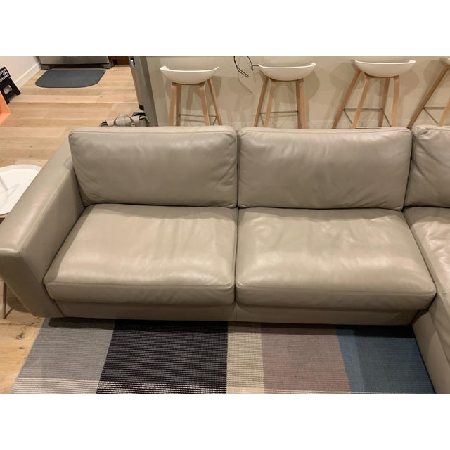 2010s Design Within Reach Reid Sectional Chaise For Sale - Image 5 of 8