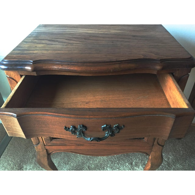 Vintage French Provincial Side Tables Nightstands