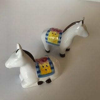20th Century Folk Art Horse Salt and Pepper Set - 2 Pieces Preview